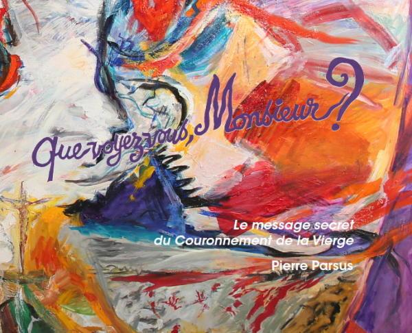 Pierre Parsus est fasciné par le retable qu'il analyse dans ce livre, depuis l'été 1973 et son exposition à l'hospice de Villeneuve-lès-Avignon.