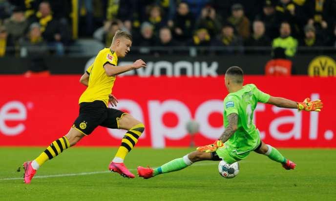 Nouvelle recrue des «Borussen», Erling Haaland a déjà inscrit neuf buts pour Dortmund.
