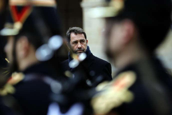Le ministre de l'intérieur, Christophe Castaner, à Paris, le 9 janvier.