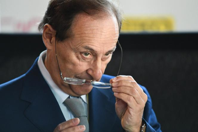 Le patron de la Fédération française des sports de glace, Didier Gailhaguet, en novembre 2018.