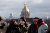 Le 1er février au Trocadéro, à Paris.