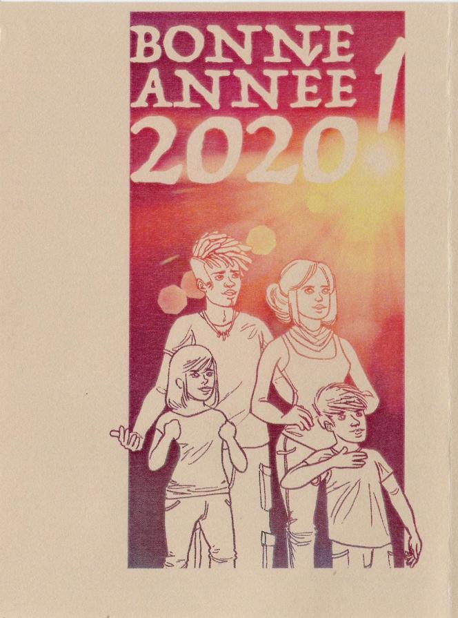« Bonne année 2020!», par Pierre Bara.