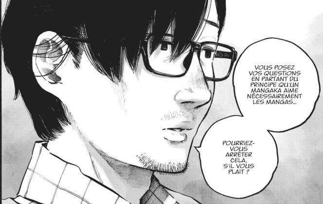 Extrait d'« Errance», récit en partie autobiographique d'Inio Asano.