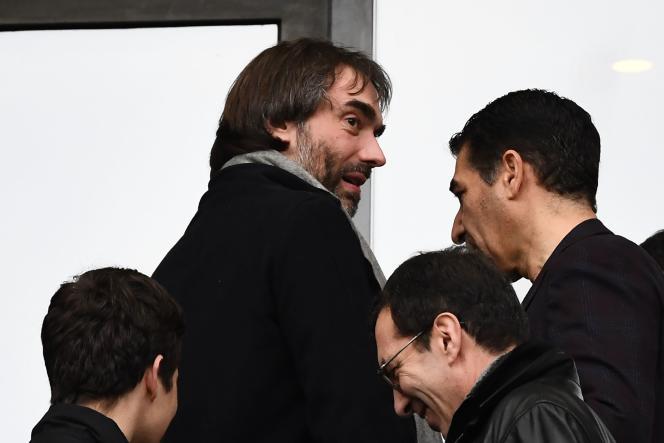 Cédric Villani, au Stade de France, à Saint-Denis, le 2 février.