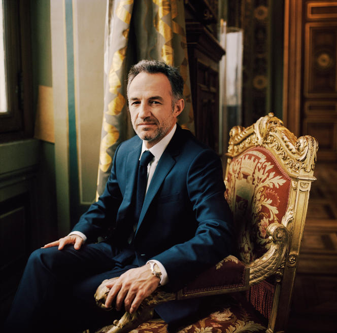 Emmanuel Grégoire, à l'Hôtel de ville de Paris, le 30 janvier.