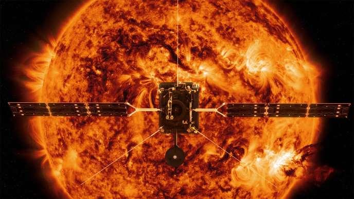 Vue d'artiste de la NASA deSolar Orbiter.