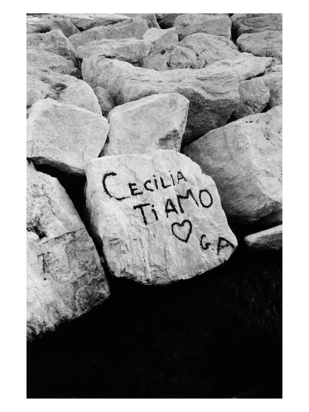 Claude Nori, «Napoli», 1982. Photographie tirage lambda sur papier baryté.