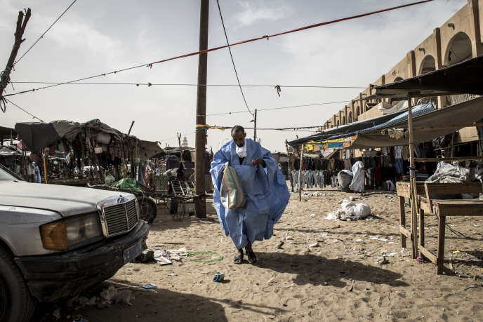 Le marché principal de Nouakchott, capitale de la Mauritanie, en janvier 2020.