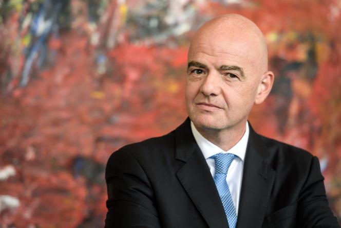 Le président de la FIFA Gianni Infantino à Genève, le 4 octobre 2019.