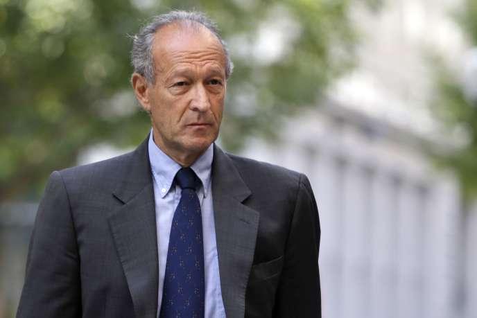 Thierry Gaubert, ex-conseiller de Nicolas Sarkozy, en 2013.