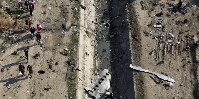 D'après Kiev, Téhéran a su dès l'origine les causes du crash aérien du vol 752