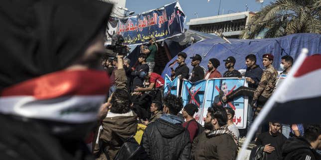 Les Irakiens en colère après la nomination du nouveau premier ministre, Mohammed Taoufiq Allaoui