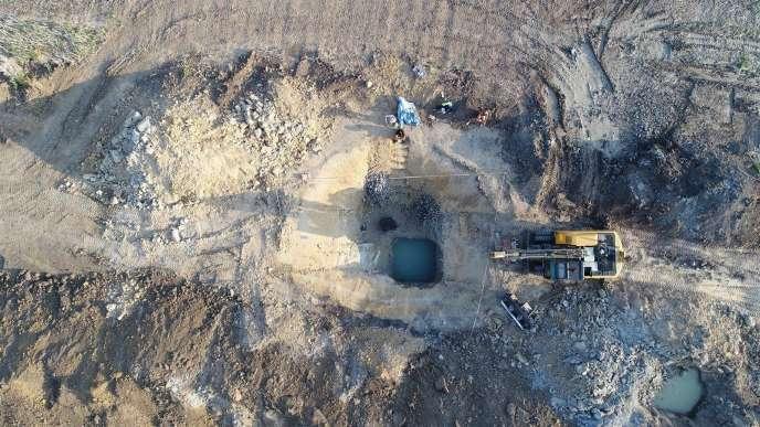 Le puits néolithique en bois a été découvert sur un siteà environ 120 kilomètres à l'est de la capitale tchèque, Prague.