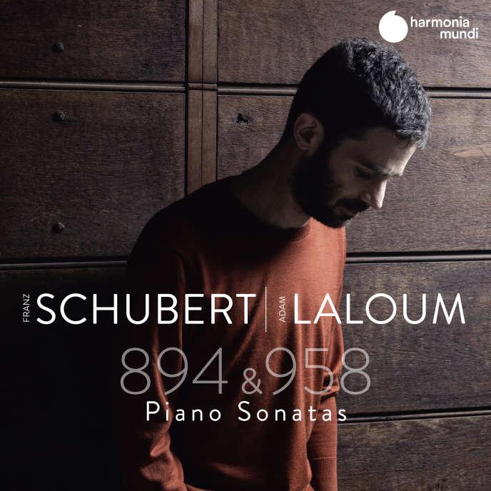 Pochette de l'album«Piano Sonatas», sonates pour piano D.894 et D.958 de Schubert par Adam Laloum.