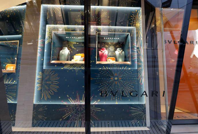 Un magasin Bulgari, à Monaco, en décembre 2016.