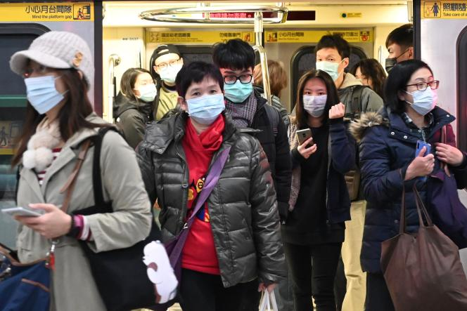A Taipei, le 30 janvier 2020.