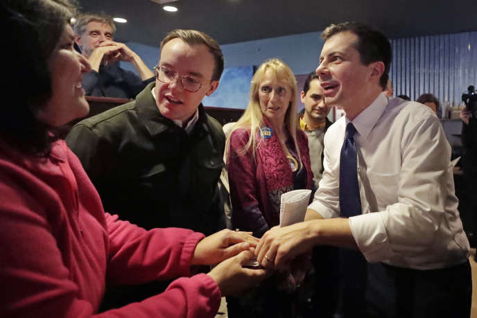 Le candidat démocrate Pete Buttigieg à Hampton (New Hampshire) mardi 4 février.