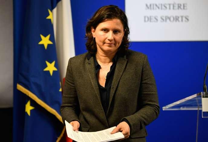 La ministre des sports, Roxana Maracineanu, le 3 février à Paris.