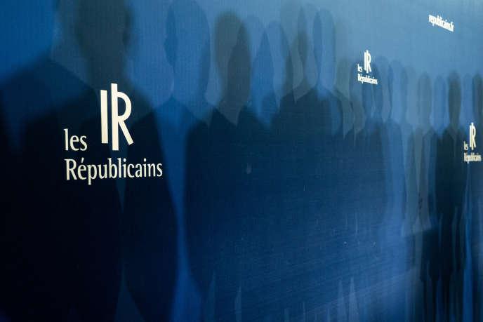 Lors des vœux du parti Les Républicains à la presse, à Paris, le 21janvier.