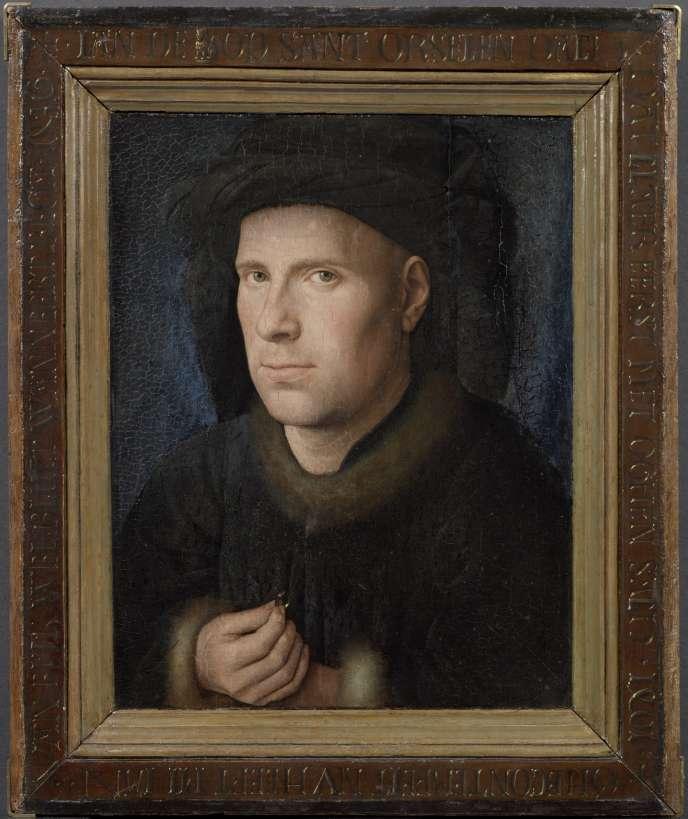 «Portrait van Jan de Leeuw» (1436), de Jan Van Eyck,huile sur panneau.