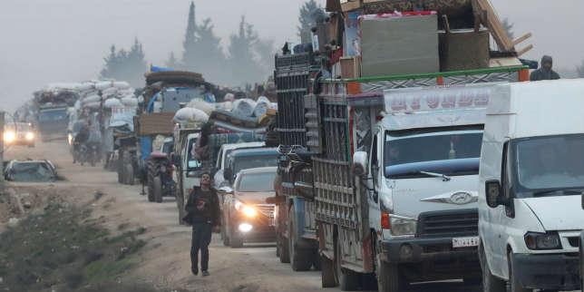 Syrie: un demi-million de déplacés en deux mois dans le nord-ouest