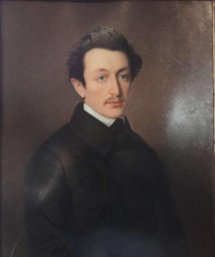 Moses Hess, par Gustav Köttgen, en 1846.