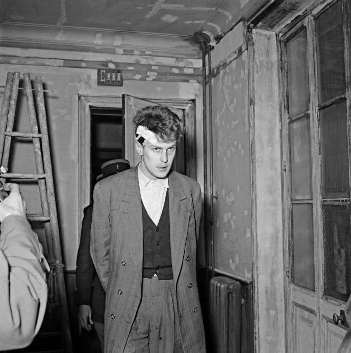 Jacques Fesch, en 1954, à Paris.