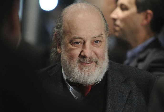 Le juge Claudio Bonadio, à Buenos Aires, en mai 2016.