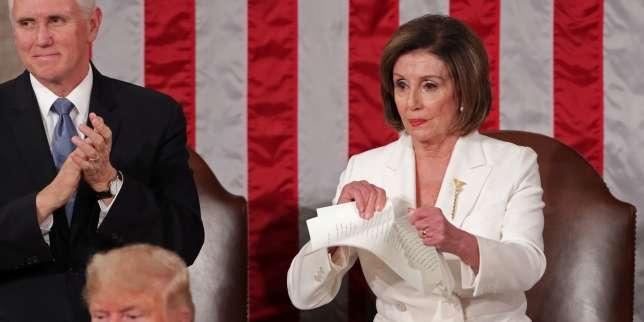 Un montage vidéo publié par Donald Trump pour critiquer Nancy Pelosi restera en ligne