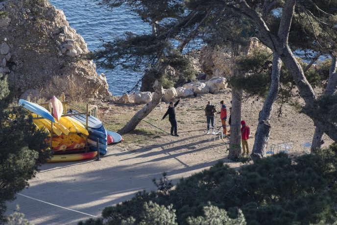 Des Français confinés dans le centre de vacances de Carry-le-Rouet (Bouches-du-Rhône), le 5 février 2020.