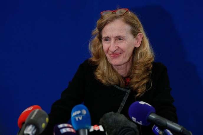 La ministre de la justice Nicole Belloubet, à Paris, le 5 février.