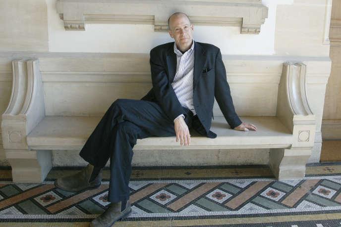 L'écrivain Seth Greenland en 2008 à Vincennes.