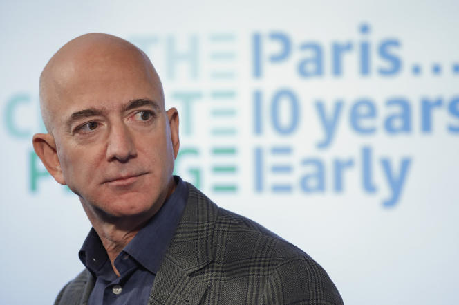 Jeff Bezos à Washington, le 19 septembre 2019.