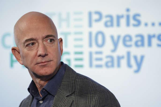 Jeff Bezos à Washington, le 19 septembre 2019.