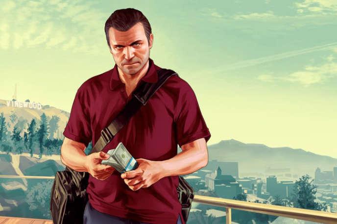 En vingt ans, Dan Houser a donné naissance à des centaines de personnages de jeux vidéo à succès, comme ici Michael DeSanta, de «Grand Theft AutoV».