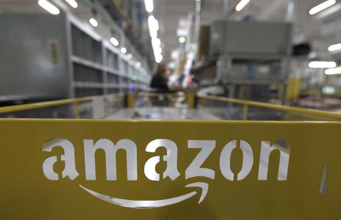 Un centre de distribution d'Amazon, à Mönchengladbach, en Allemagne, en décembre 2019.