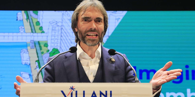 Municipales A Paris Cedric Villani Centre Son Programme Sur L