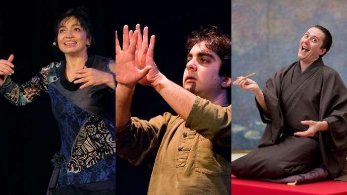 Nathalie Leone, Marien Guillé et Stéphane Ferrandez.
