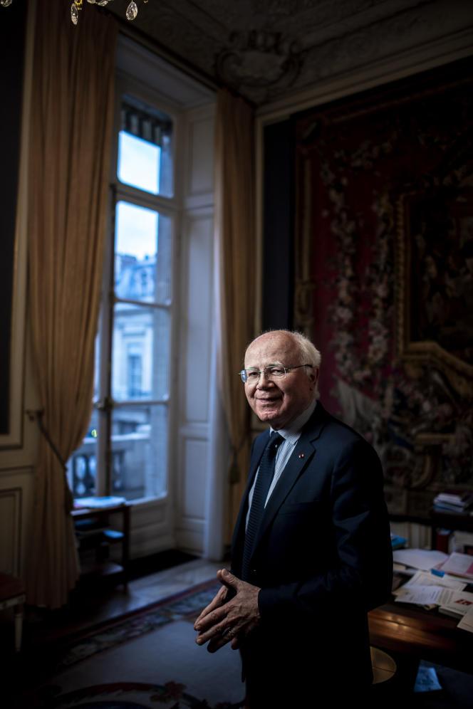 Bruno Lasserre, vice-président du Conseil d'Etat, à Paris, le 5 février.
