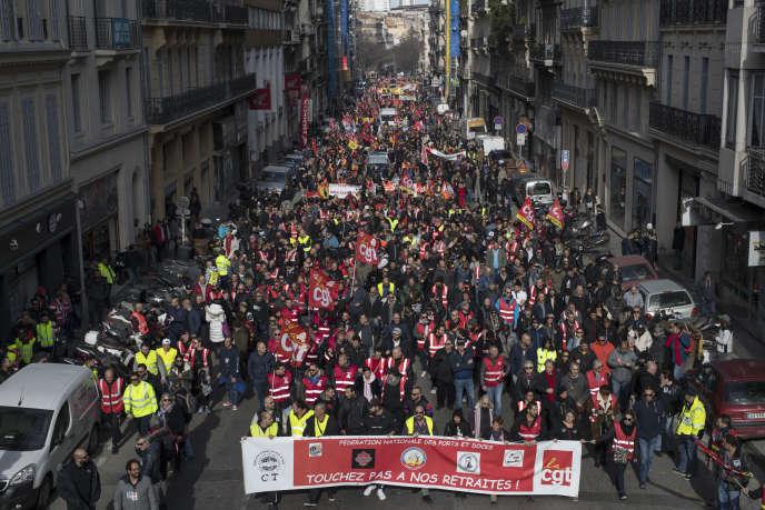 A Marseille, le 6 février.