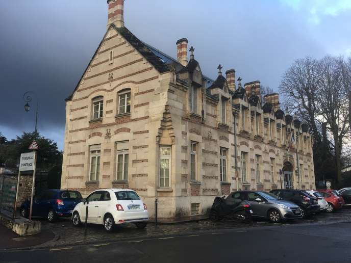 Tribunal de Saint-Germain-en-Laye (Yvelines).