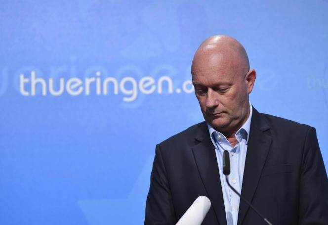 Thomas Kemmerich, élu mercredi à la tête du Land allemand Thuringe avec les voix de l'extrême droite, a annoncé jeudi 6 février sa démission.