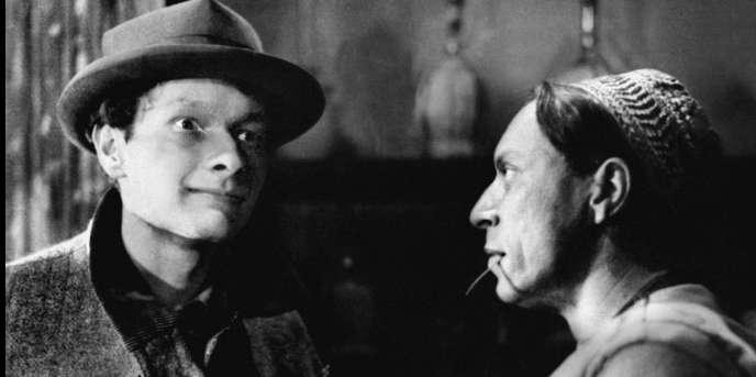 Jean-Louis Barrault (à gauche) et Louis Jouvet dans le film «Salonique, nid d'espions»,de Georg Wilhelm Pabst (1937).