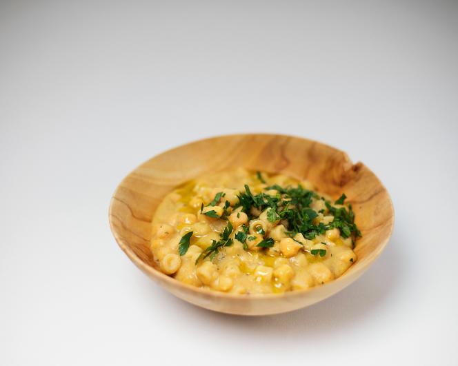 La soupe «pasta e ceci» de Théophile Pourriat.