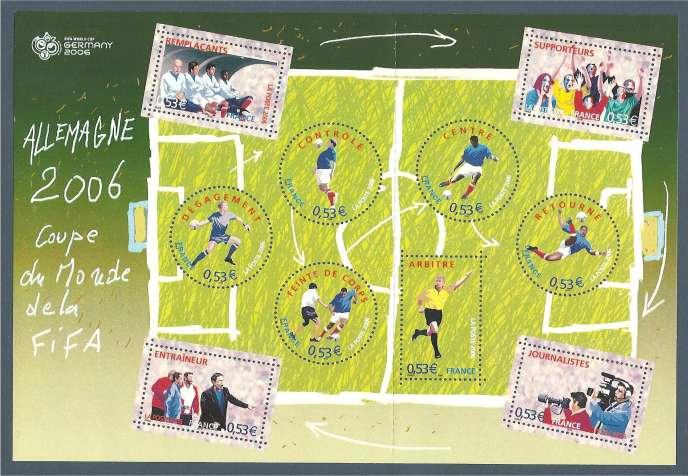 Bloc de timbres de Guy Coda paru en 2006.
