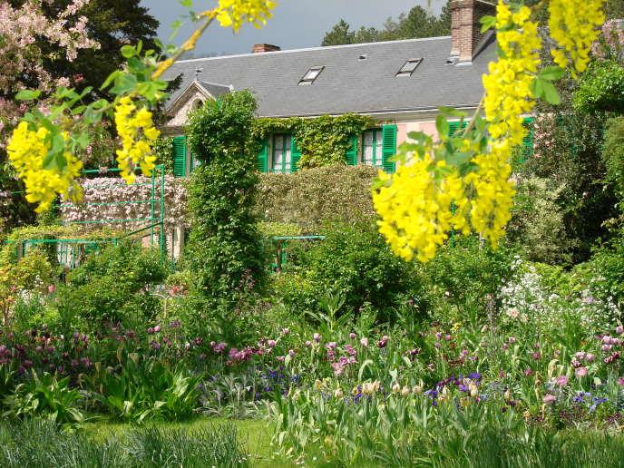 La maison de Claude Monet, à Giverny, dans l'Eure.