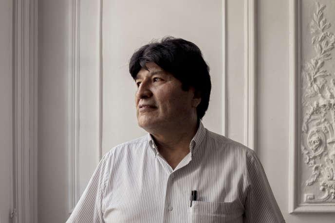 Evo Morales, à Buenos Aires, le 6 février 2020.