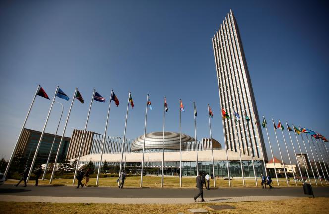 Le siège de l'Union africaine à Addis-Abeba, capitale de l'Ethiopie, en janvier 2017.