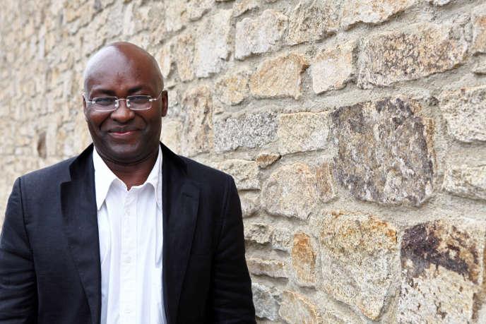 Le penseur camerounais Achille Mbembe à Saint-Malo, en juin 2011.