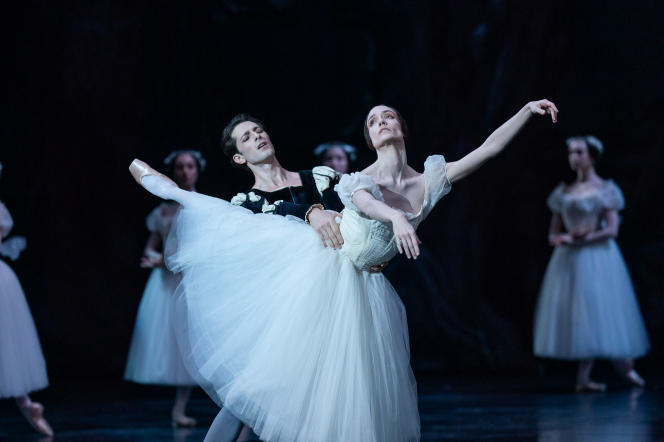 Générale de «Giselle» au Palais de l'Opéra Garnier, avec Dorothée Gilbert et Mathieu Ganio.
